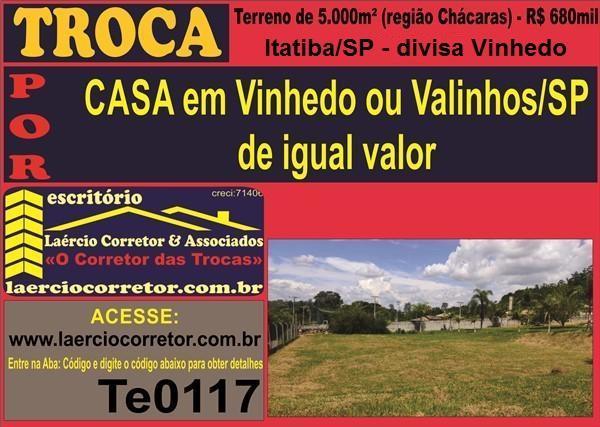 Terreno para Venda em Itatiba / SP no bairro Mombuca