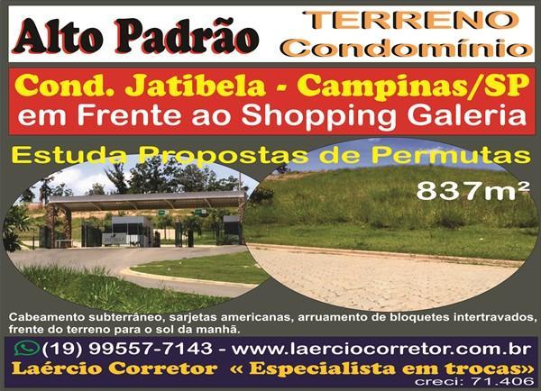 Terreno para Venda em Campinas / SP no bairro Residencial Jatibela